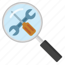 magnifying glass, sell seo tools, seo, seo service, seo tools icon