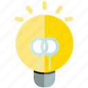bulb, electricity, idea, light icon