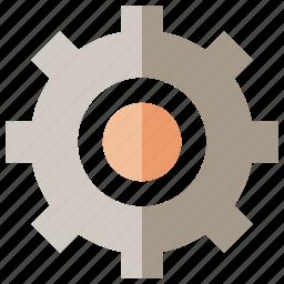 cogwheer, gear, rotate, setting icon