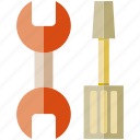 fix, repair, screwdriver, setting, wrench icon