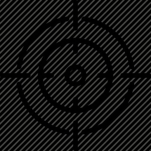 focussed, target, target marketing, target results, targeted, targeted marketing icon