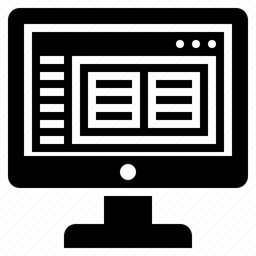 admin panel, computer software, ide, make a website, making a website, software, website maker icon