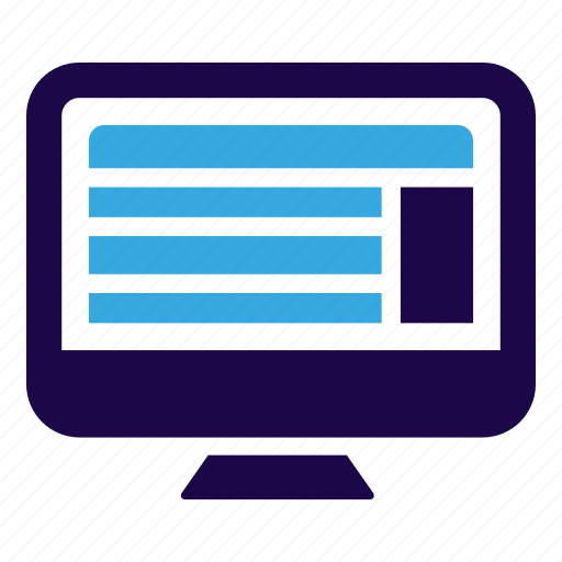 computer, internet, marketing, seo, web icon