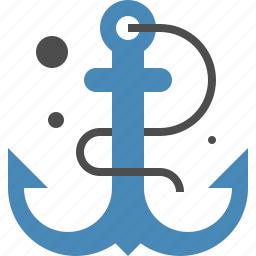 anchor, connection, link, marine, nautical, seo, text icon