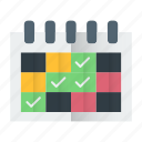 calendar, date, events icon