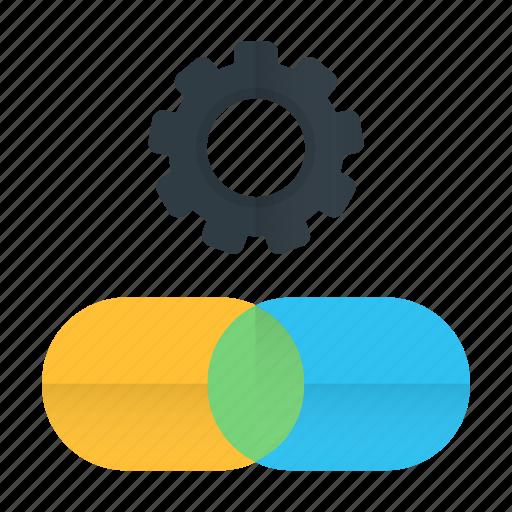 building, chain, link, optimization, seo, url icon