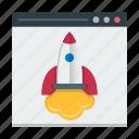 landing, optimization, page, seo, speed, web icon