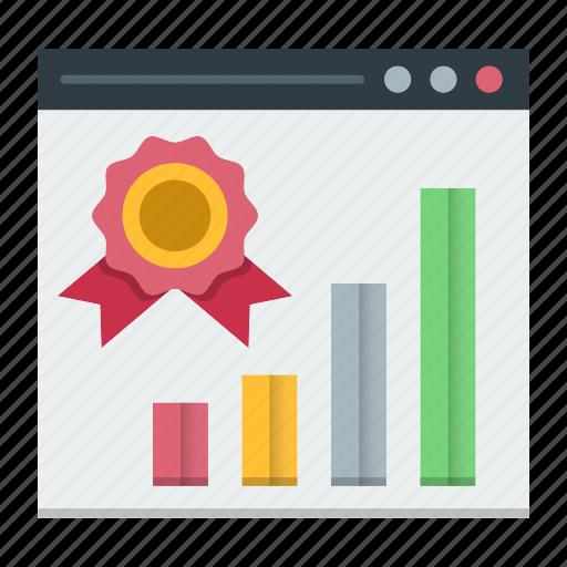 growth, optimization, ranking, seo, vip, web, website icon