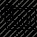 graph, growth, optimization, seo, traffic icon