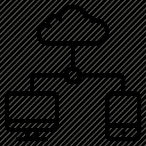 cloud, cloud connection, internet connection, network connection, networking, online connection icon