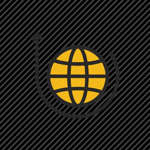 earth, global, globe, internet, planet, world, worldwide icon