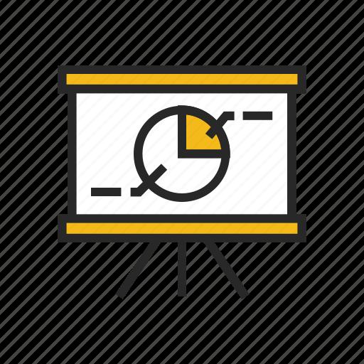 analysis, chart, finance, graph, marketing, presentation, traffic icon
