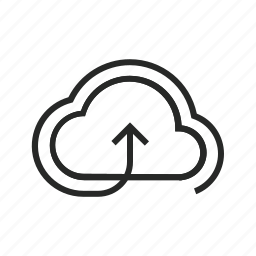 cloud, data, database, file, network, server, storage icon