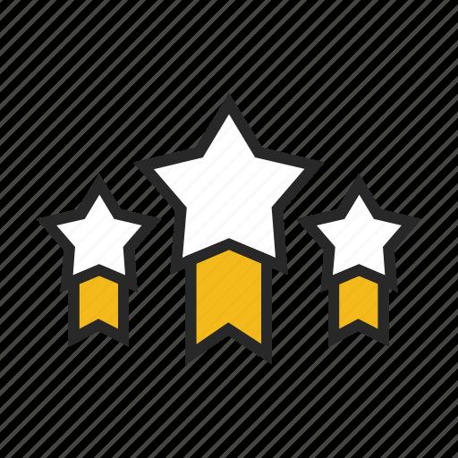 analytics, chart, graph, rates, star, statistics icon
