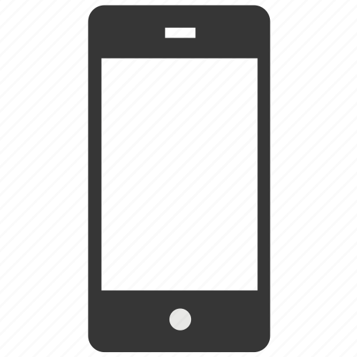 blank, cell phone, device, display, gadget, mobile, phone icon