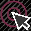 arrow, cursor, handler, seo, target, targeting, web icon