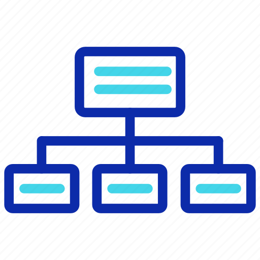 chart, connection, network, organization, seo, structure icon