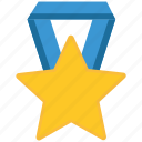 award, cup, seo, shield, star icon
