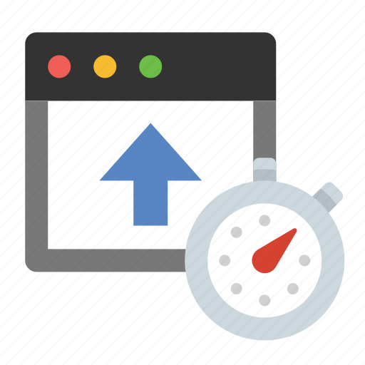 business, finance, marketing, seo, upload speed icon