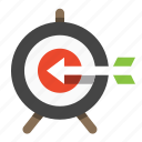 bullseye, business, finance, marketing, seo, target icon