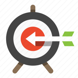 bullseye, business, finance, marketing, seo, target icon