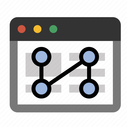 business, click pattern, finance, heat map, marketing, seo, user flow icon
