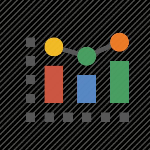 analytics, business, chart, finance, marketing, seo icon