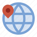 business, finance, geolocation, globe, marketing, seo icon