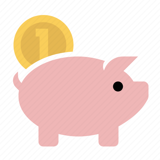 business, finance, marketing, piggy bank, savings, seo icon