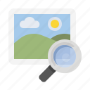 business, finance, image search, marketing, seo icon