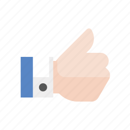 gesture, hand, like, thumbs up, upvote icon