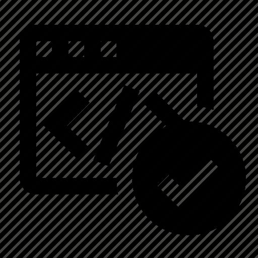 business, code validation, finance, html validation, marketing, seo icon