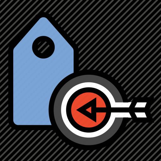 business, finance, keyword target, keyword targeting, marketing, seo icon