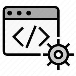 business, code, code settings, finance, marketing, seo, source code icon