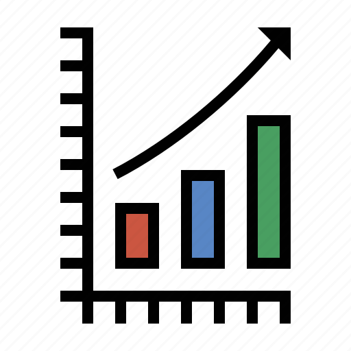 analytics, bar chart, business, chart, finance, marketing, seo icon