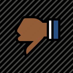 business, dislike, finance, marketing, seo, thumbs down icon