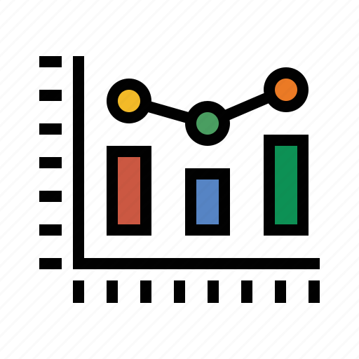 analytics, business, chart, finance, marketing, seo icon
