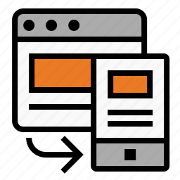 adaptive, browser, marketing, mobile, responsive, responsive design, seo icon