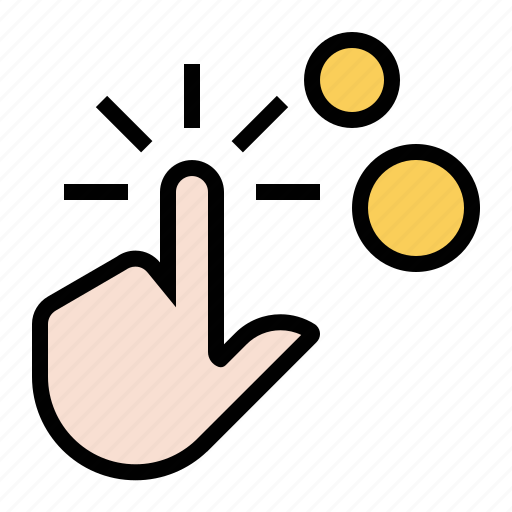 business, coin, finger, hand, marketing, pay per click, seo icon