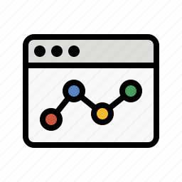 analytics, business, chart, finance, marketing, seo, web analytics icon