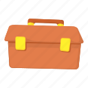 briefcase, business, businessman, cartoon, document, portfolio, work icon