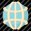 australia, cartoon, earth, global, map, planet, world icon