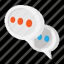 communication, speech, chat, message, cartoon, talk, speak