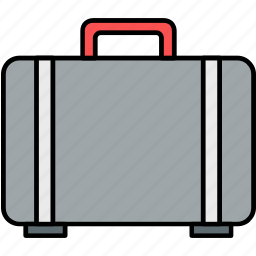 bag, briefcase, case, office, suitcase icon
