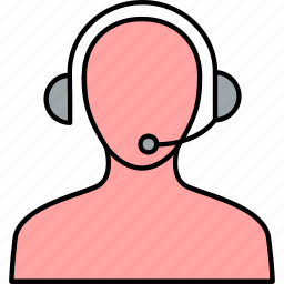 call, center, contact, help, phone, service, support icon