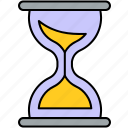 clock, commerce, finance, hourglass, schedule, time, timer icon