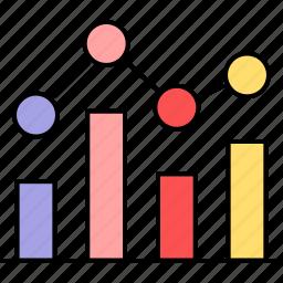 analysis, analytics, bar, diagram, graph, report icon