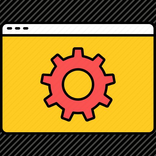 setting, settings, wallpaper icon