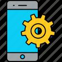 phone, settings, setting