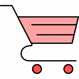 buy, cart, online, shopping, trolley icon